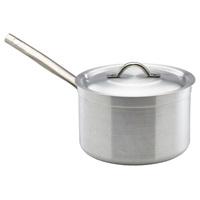 Aluminium Saucepan With Lid 5.5Litre