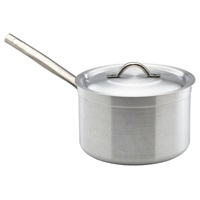 Aluminium Saucepan With Lid 4Litre