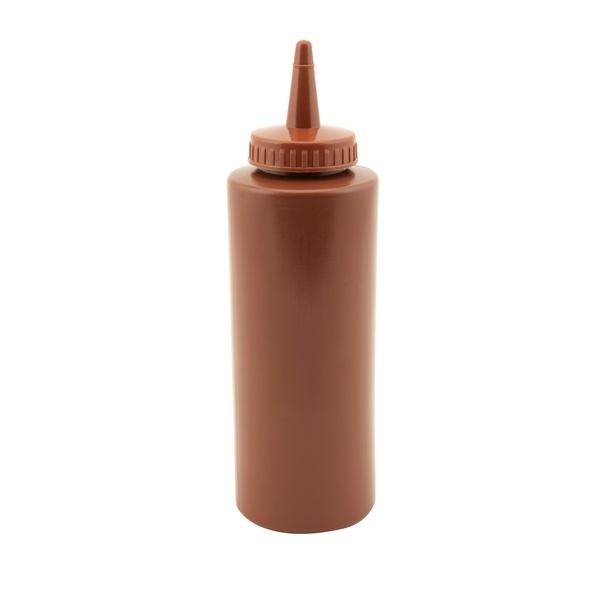 Genware Squeeze Bottle Brown 12oz/35cl