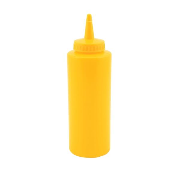 Genware Squeeze Bottle Yellow 12oz/35cl