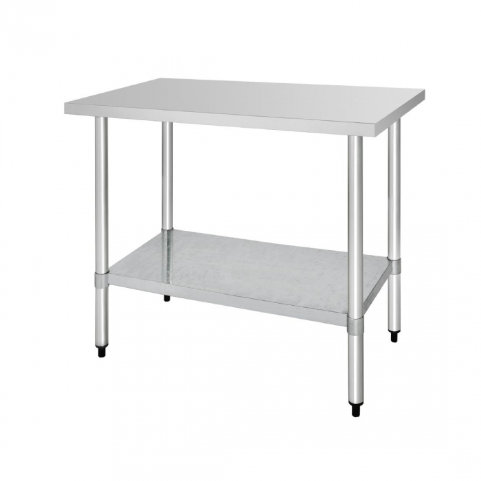 Vogue St/St Table - 1200x600mm