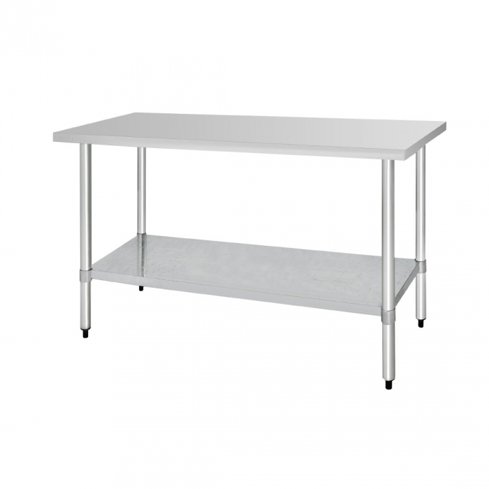 Vogue St/St Table - 1800x600mm
