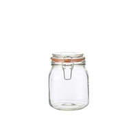 Genware Glass Terrine Jar 1L