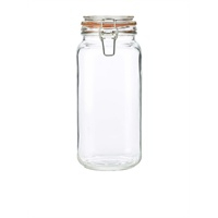 Genware Glass Terrine Jar 2L