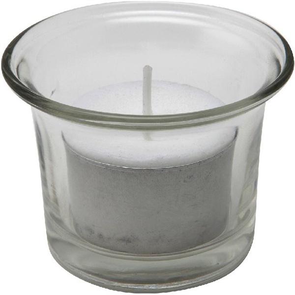 Glass Tealight Holder 50 X 50mm