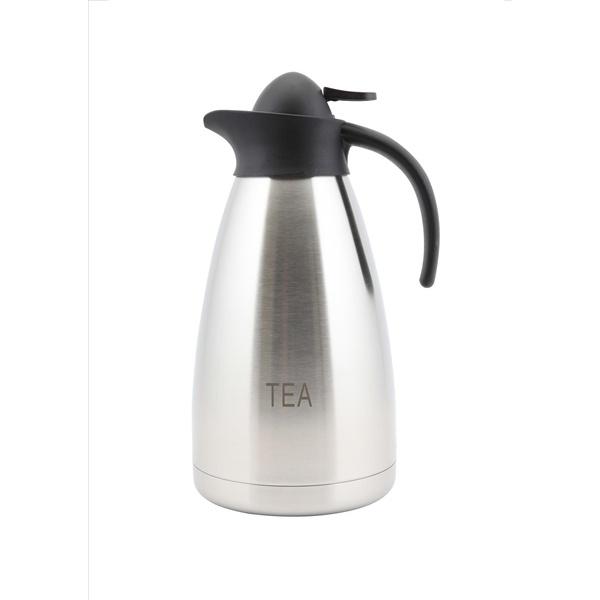 Tea Inscribed St/St Contemporary Vac. Jug 2.0