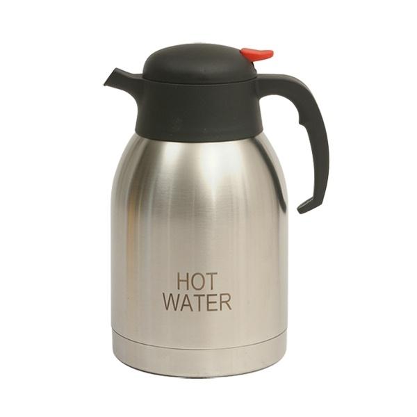 Hot Water Inscribed St/St Vacuum Jug 2.0L