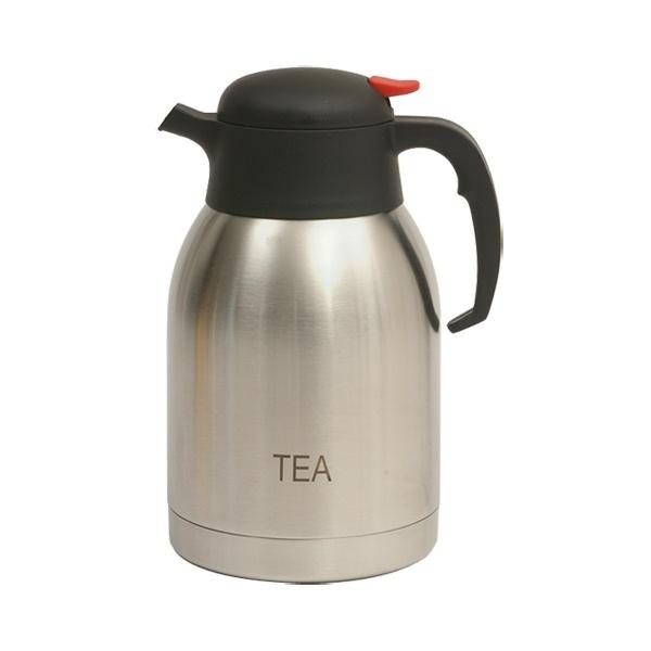 Tea Inscribed St/St Vacuum Jug 2.0L