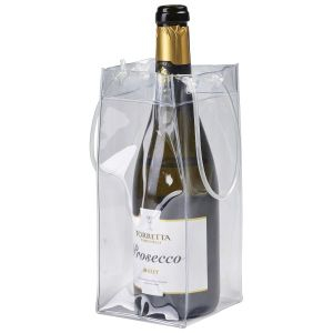 "Clear Wine Bag 25cm/10"""