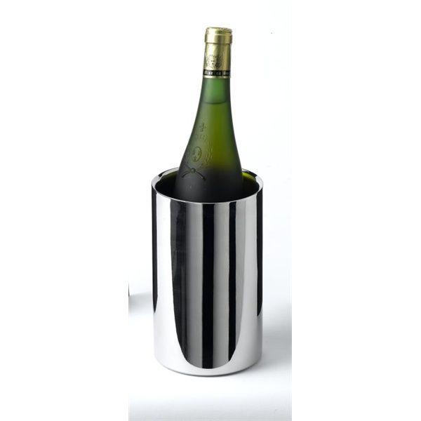 Polished St/St Wine Cooler 12 Dia X 18cm H