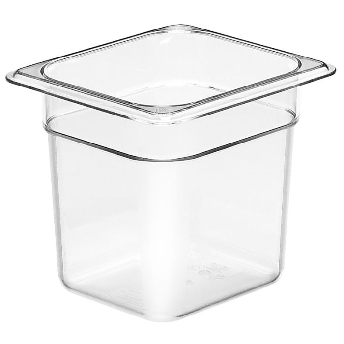 1/6 -Polycarbonate GN Pan 150mm Clear
