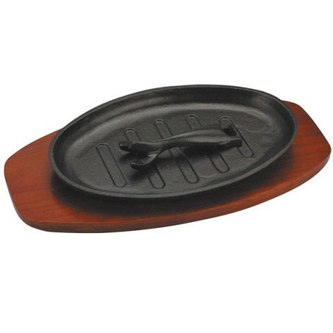 Oval Sizzle Platter 28 x 18cm