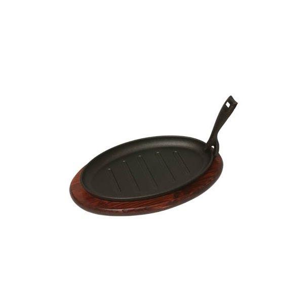 """Sizzler Platter & Trivet Sizzler Length 11"""""""