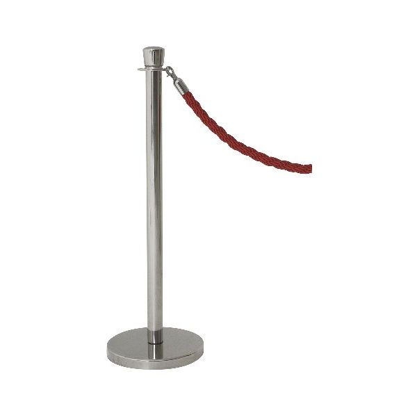 Genware Stainless Steel Barrier Post