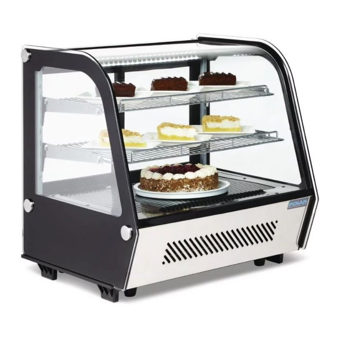 Polar Refrigerated Display Merchandiser - 120Ltr