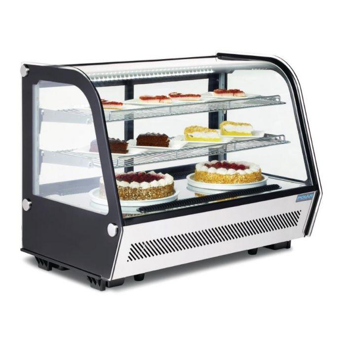 Polar REFRIGERATED Display Merchandiser - 160Ltr