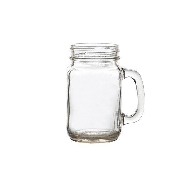 Genware Glass Mason Jar 50cl / 17.5oz