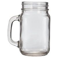 Genware Glass Mason Jar 68cl / 24oz