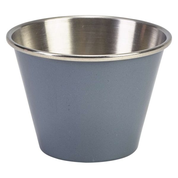 2.5oz Stainless Steel Ramekin Grey