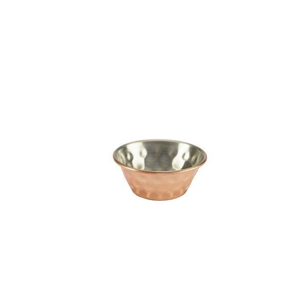 1.5oz Copper Plated Hammered Ramekin