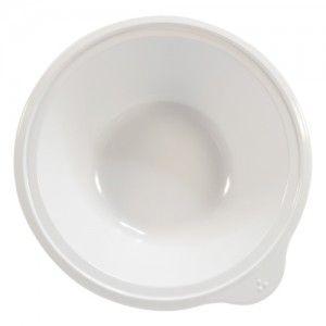 Omni White Bowl with White Rim 180x170x50mm 400ml