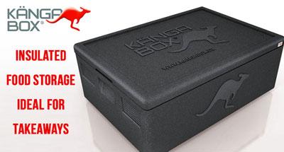 Kangabox Insulated Food Storage - Ideal for Takeaways