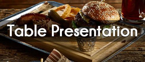 Table Presentation